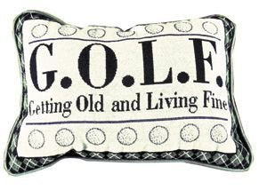 Simply G.O.L.F. Pillow