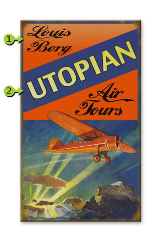 Aviation (Utopia) Wood 28x48