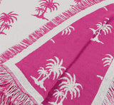 Mid - Castaway - Fushia Throw