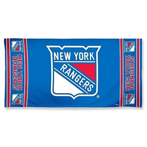 WinCraft New York Rangers Beach Towel