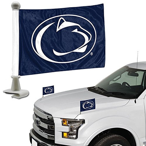 ProMark NCAA Penn State Nittany Lions Flag Set 2-Piece Ambassador Style, Team Color, One Size