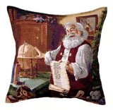 Simply Home The List Tapestry Throw Pillow