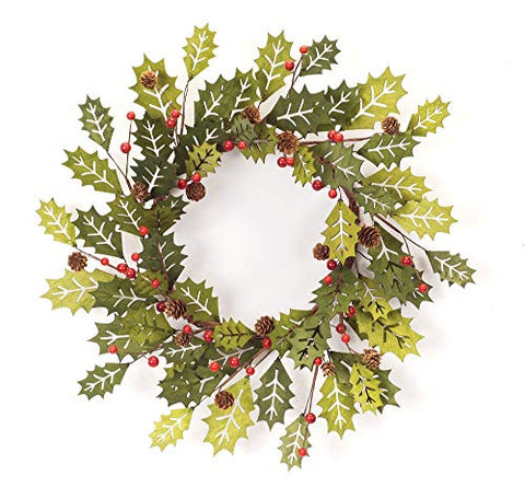 Melrose Holly Wreath 21