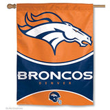 NFL Denver Broncos 28-by-40-Inch Vertical Flag