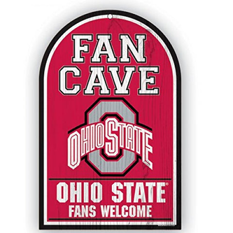 WinCraft NCAA Ohio State Buckeyes Sports Fan Home Decor, Team Color, 11x17