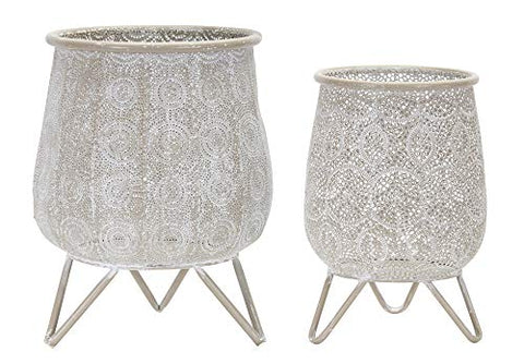 Melrose Intl. Container (Set of 2) 8.25