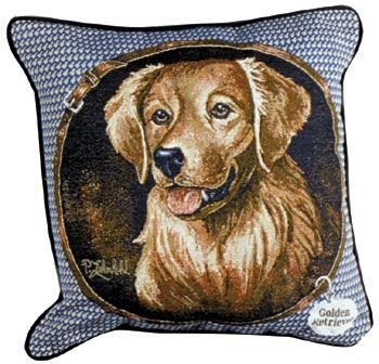 Simply Golden Retriever Pillow