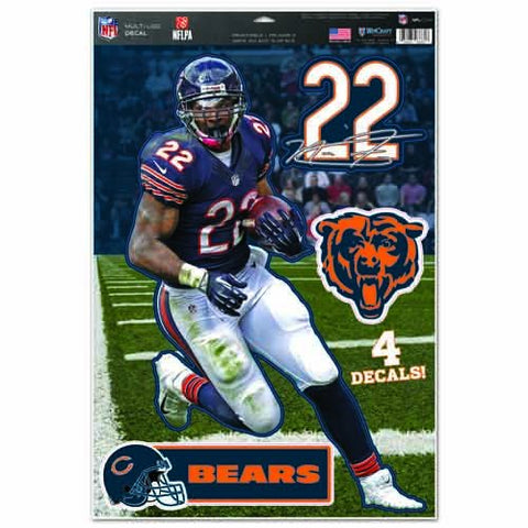 WinCraft NFL Chicago Bears WCR29268014 Multi-Use Decal, 11
