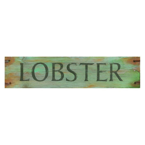 Lobster Wall Art - 7W x 30H in. Multicolor - PP-1061