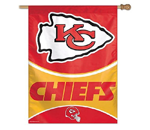 NFL Kansas City Chiefs 27-by-37-Inch Vertical Flag