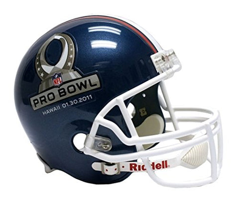 Riddell NFL Pro Bowl Helmet Full Size ReplicaHelmet Replica Full Size VSR4 Style 2011, Team Colors, One Size