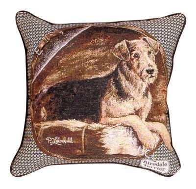 Simply Airedale Terrier Pillow