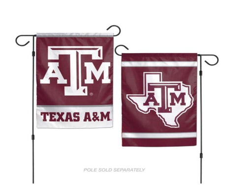 Wincraft, NCAA Texas A and M Aggies 12x18 Garden Flag, 2- Sided, Team Color
