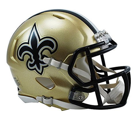 Riddell New Orleans Saints NFL Replica Speed Mini Football Helmet