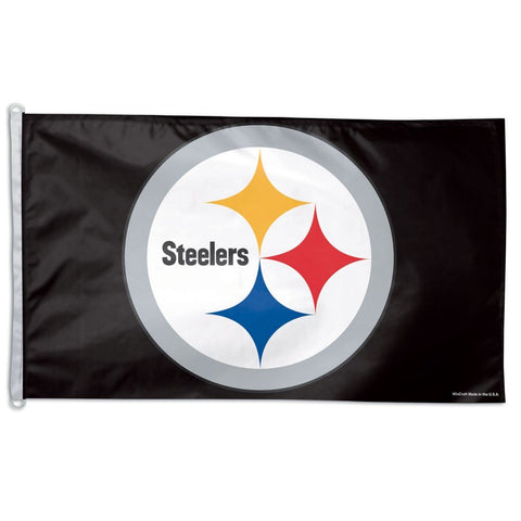 WinCraft NFL Pittsburgh Steelers WCR78921012 Team Flag, 3' x 5'