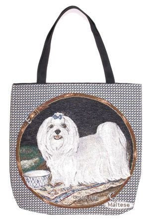 Simply Maltese Tote Bag