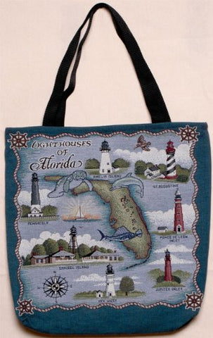 Simply Lighthouses of Florida Tote Bag