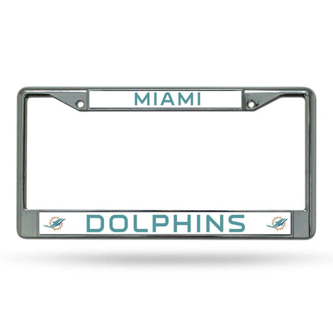 Rico Industries NFL Unisex-Adult Standard Chrome License Plate Frame