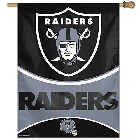 NFL Oakland Raiders 27-by-37-Inch Vertical Flag