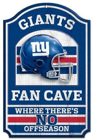 WinCraft NFL New York Giants 05922010 Wood Sign, 11