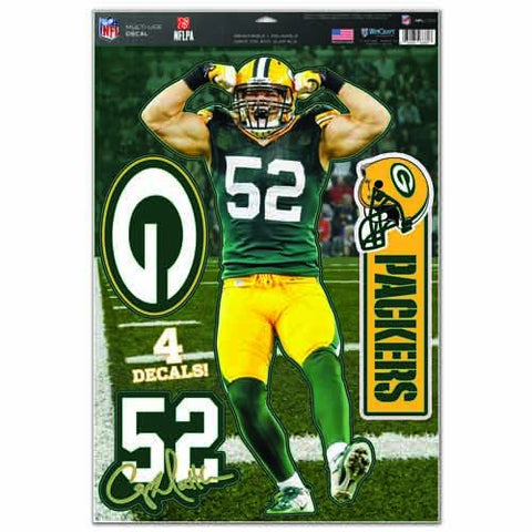 Green Bay Packers Multi-Use Decal 11