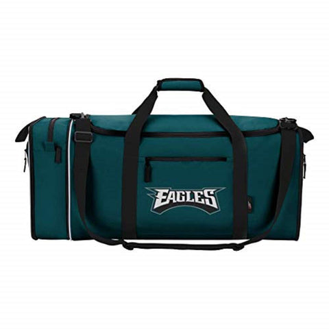 NFL Philadelphia Eagles NFL Steal Duffel, Green, Measures 28