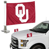 ProMark NCAA Oklahoma Sooners Flag Set 2-Piece Ambassador Style, Team Color, One Size