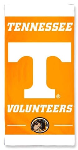 WinCraft NCAA Tennessee Volunteers 30x60 Beach Towel, One Size, Team Color