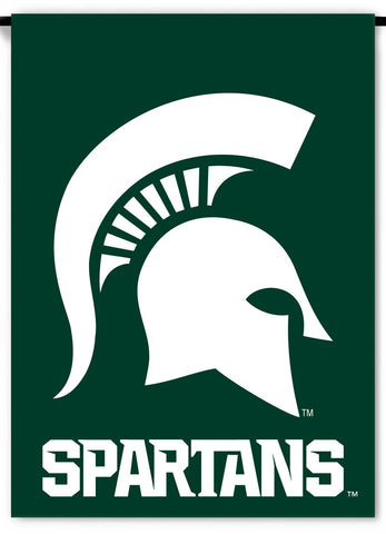 NCAA Michigan State Spartans 2-Sided Country Garden Flag, Team Color
