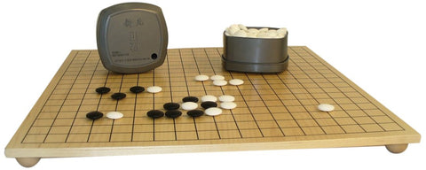 Go Board and Stones Board Game