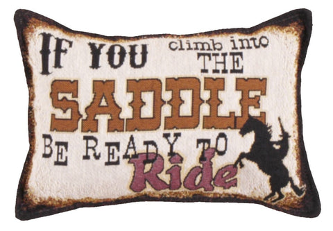 Simply If You Climb. 9 X 12 Tapestry Pillow