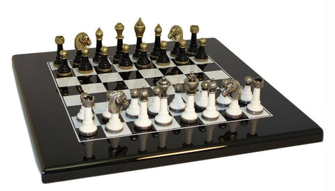 Worldwise Imports Wood and Metal Chess Set