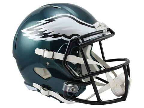 Riddell NFL Philadelphia Eagles Full Size Replica Speed Helmet, Medium, Green