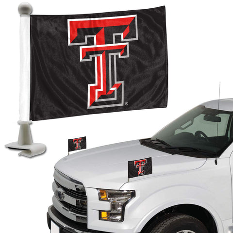 ProMark NCAA Texas Tech Red Raiders Flag Set 2-Piece Ambassador Style Flag Set, Team Color, One Size