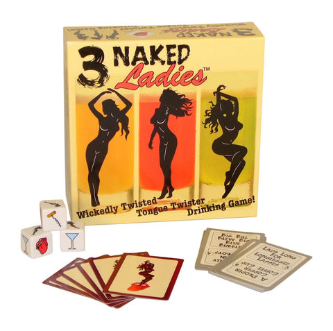 Worldwise Imports 3 Naked Ladies Action Game