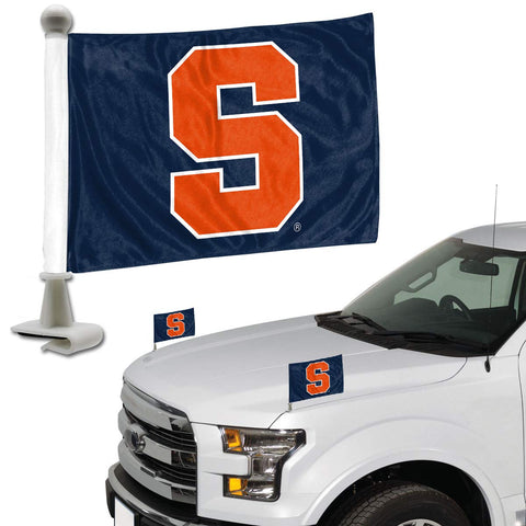 ProMark NCAA Syracuse Orange Flag Set 2-Piece Ambassador Style, Team Color, One Size
