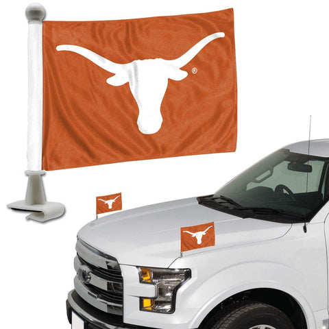 ProMark NCAA Texas Longhorns Flag Set 2-Piece Ambassador Style, Team Color, One Size