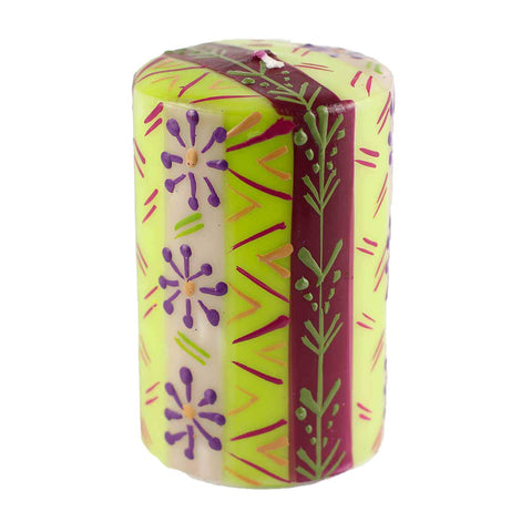 Nobunto Hand Painted Candles in Kileo Design (Pillar)