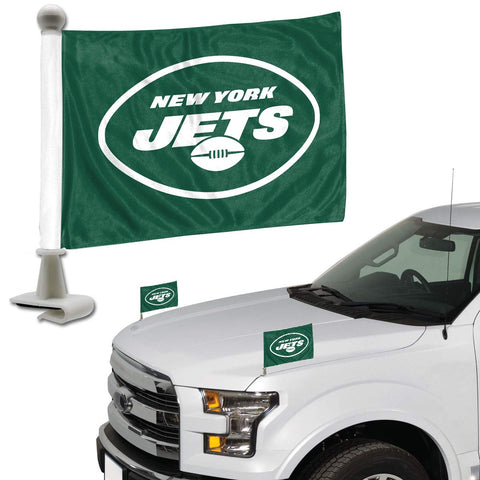 ProMark NFL New York Jets Flag Set 2-Piece Ambassador Style, Team Color, One Size