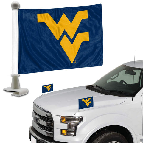 ProMark NCAA West Virginia Mountaineers Flag Set 2-Piece Ambassador Style, Team Color, One Size