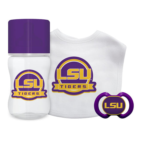 Baby Fanatic NCAA LSU Tigers Infant and Toddler Sports Fan Apparel