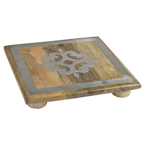 GG Collection 10 in. Wooden Trivet