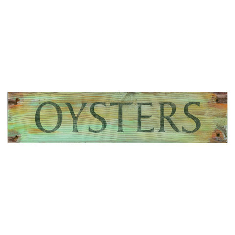 Vintage Beach Signs - Oysters