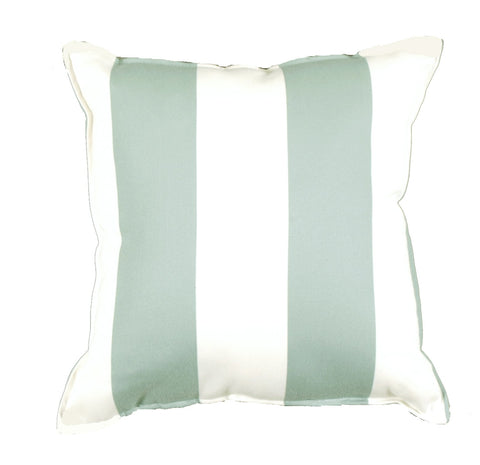 Cabana Stripe Spa Outdoor Pillow