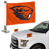 ProMark NCAA Oregon State Beavers Flag Set 2-Piece Ambassador Style, Team Color, One Size