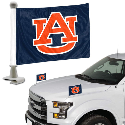 ProMark NCAA Auburn Tigers Flag Set 2-Piece Ambassador Style, Team Color, One Size