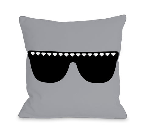 Diamond Sunglasses Lumbar Pillow by OBC 14 X 20
