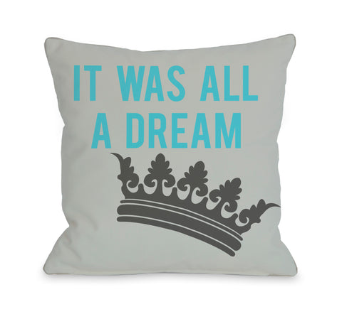 All A Dream Version 1 Throw Pillow by OBC 18 X 18