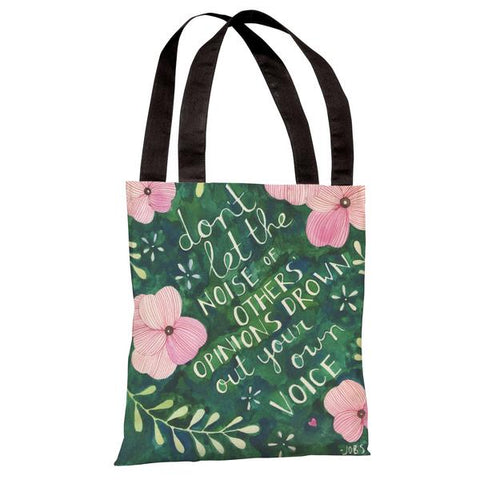 Your Own Voice Tote Bag by Ana Victoria Calderon
