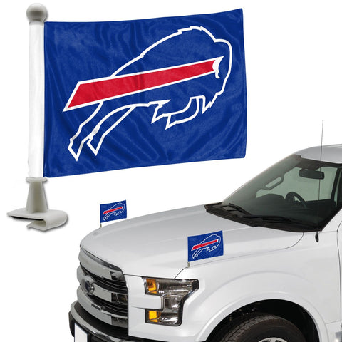 ProMark NFL Buffalo Bills Flag Set 2-Piece Ambassador Style, Team Color, One Size